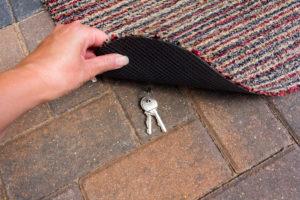 hiding your house key